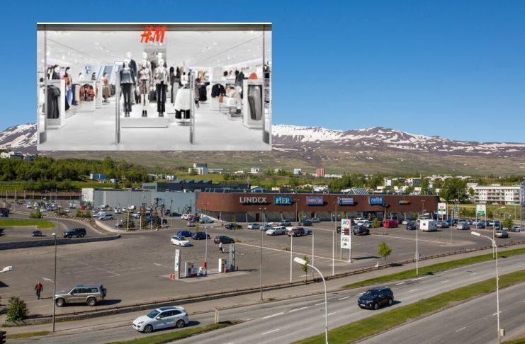 """H&M opnar á Akureyri: """"Erum virkilega ánægð með veru okkar hér á landi"""""""
