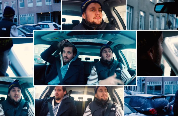 """""""Carpool Rap-í-ókí:"""" Dóri DNA ræðir nýju ljóðabókina og rappar í bílnum"""