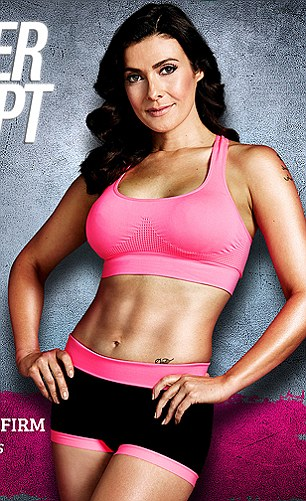 Coronation Street actress Kym is currently promoting her Power Sculpt DVD (pictured)