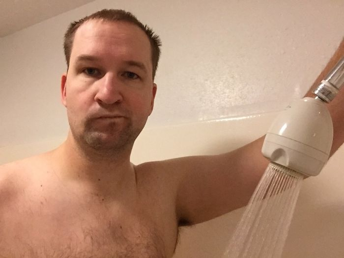 Wish Hotels Posted Shower Head Height. I Would Filter For That When Booking
