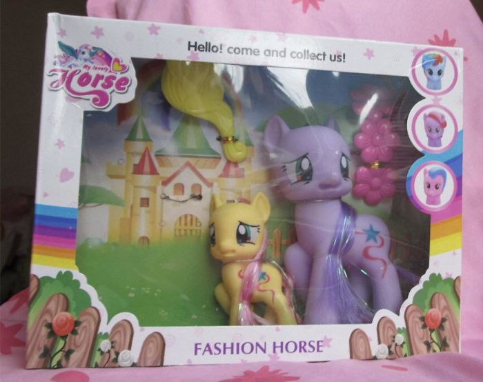My Little Terrified Pony