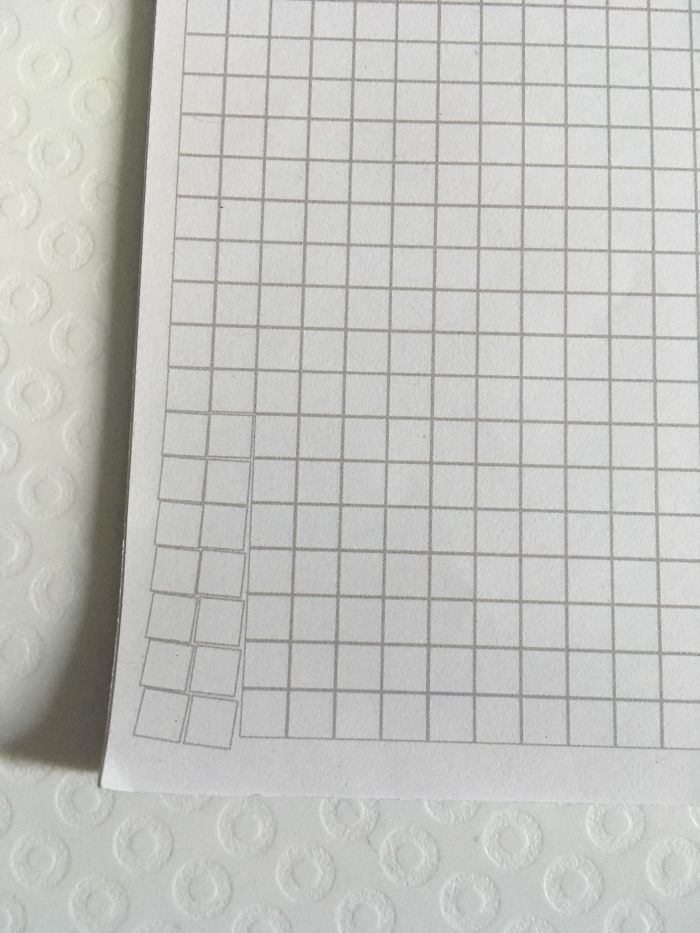 Someone Thought It Would Be Funny To Do This At The Corner Of Every Page Of This Notebook