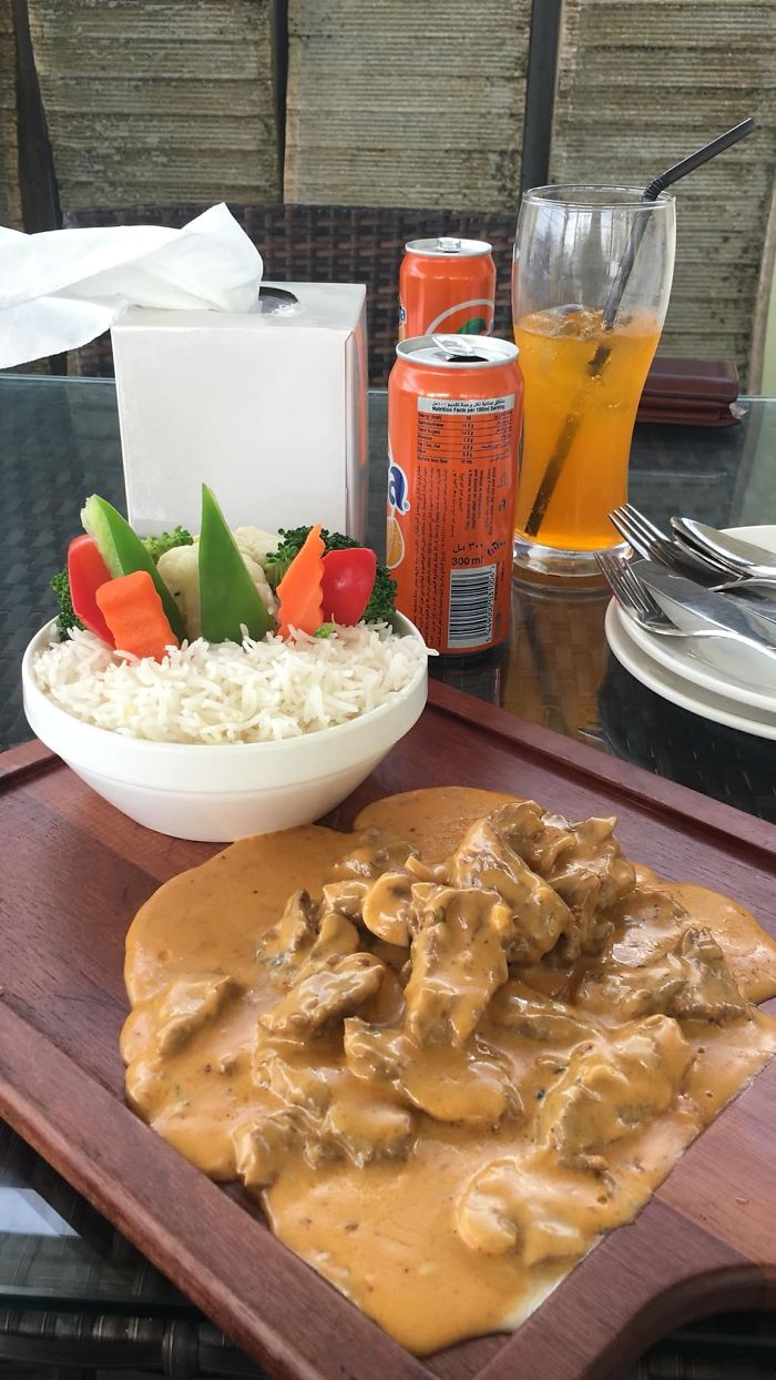 Curry On A Chopping Board