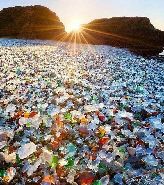 Image result for glass beach california