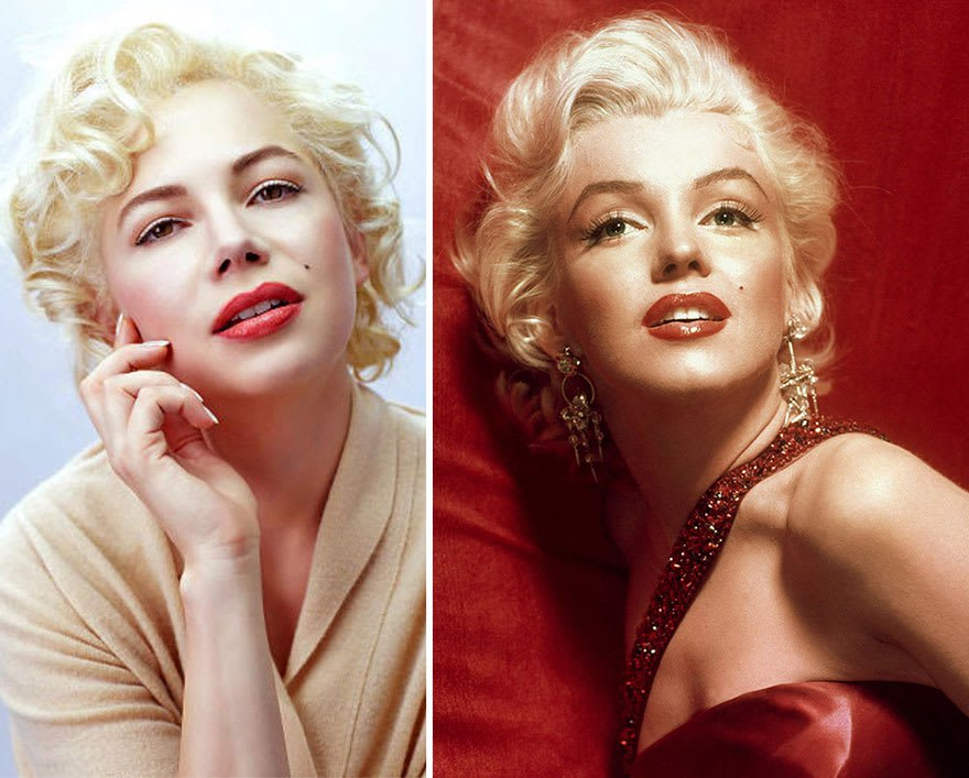 Michelle Williams As Marilyn Monroe In My Week With Marilyn (2011)