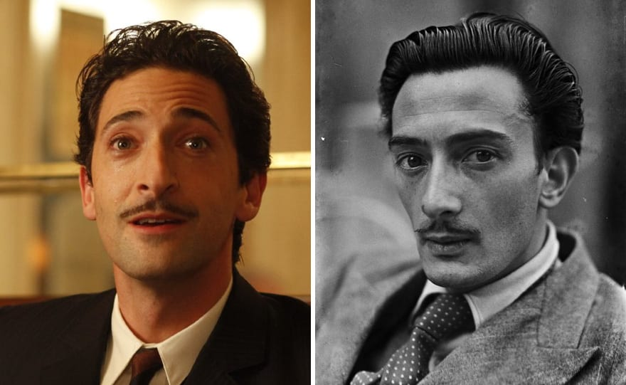 Adrien Brody As Salvador Dali In Midnight In Paris (2011)