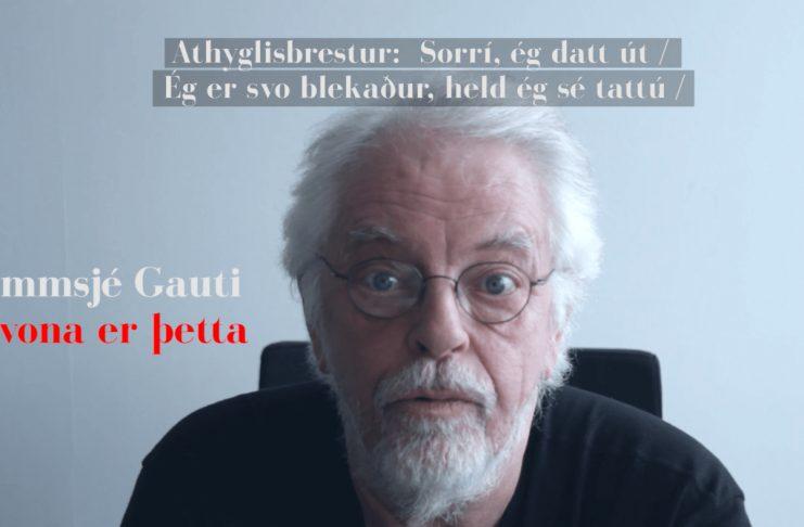 Arnar Jóns les íslenskar rapplínur (pt. 2)