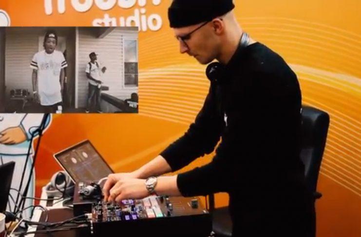 DJ B-Ruff þeytir skífum í útvarpsþættinum Póló (myndband)