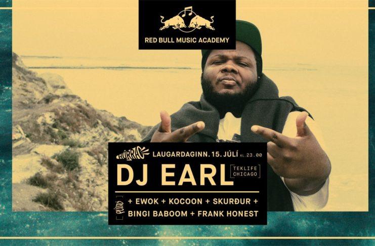 DJ Earl ásamt Plútó á Húrra í kvöld: