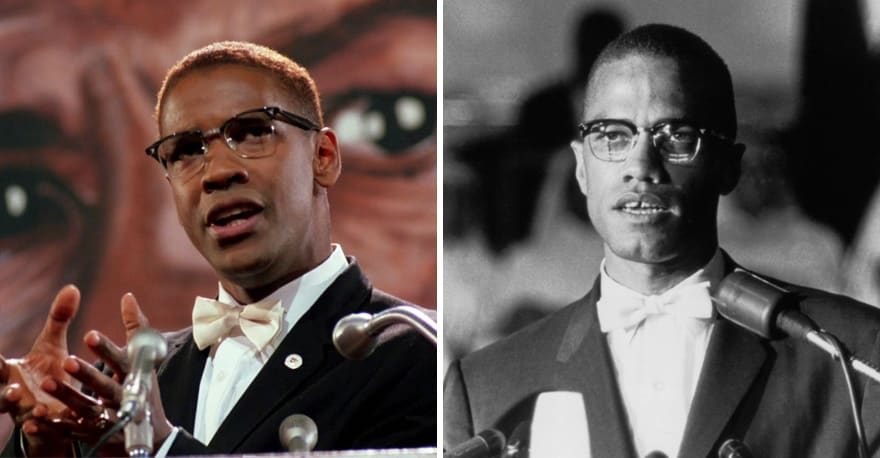 Denzel Washington As Malcolm X In Malcolm X (1992)