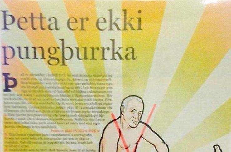 Daily Mail fjallar um íslensku pungþurrkuna – Herbert Guðmundsson flæktur í málið