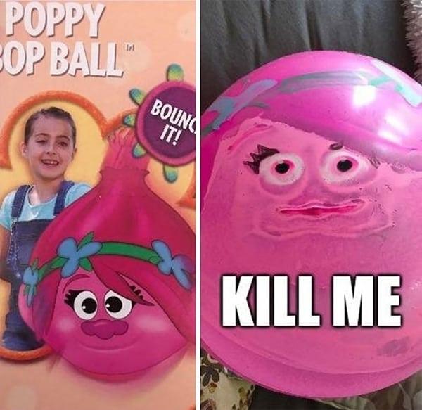Epic Toy Design Fails poppy ball