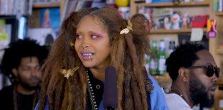 """Erykah Badu með óviðjafnanlega tónleika hjá NPR: """"Tiny Desk Concert"""""""