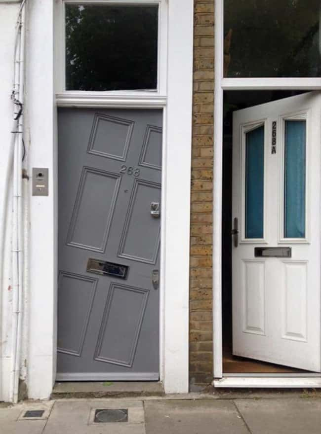 Images That Will Make You Feel Uncomfortable wonky door
