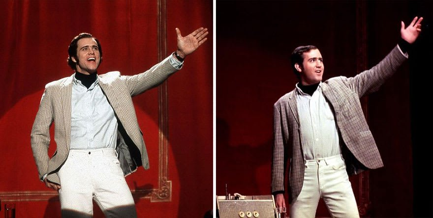 Jim Carrey As Andy Kaufman In Man On The Moon (1999)