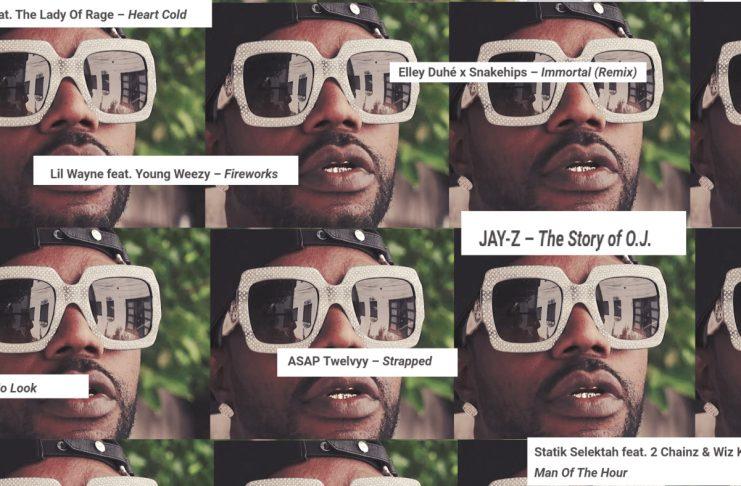Lil' Wayne, Juicy J, MC Eiht o.fl.