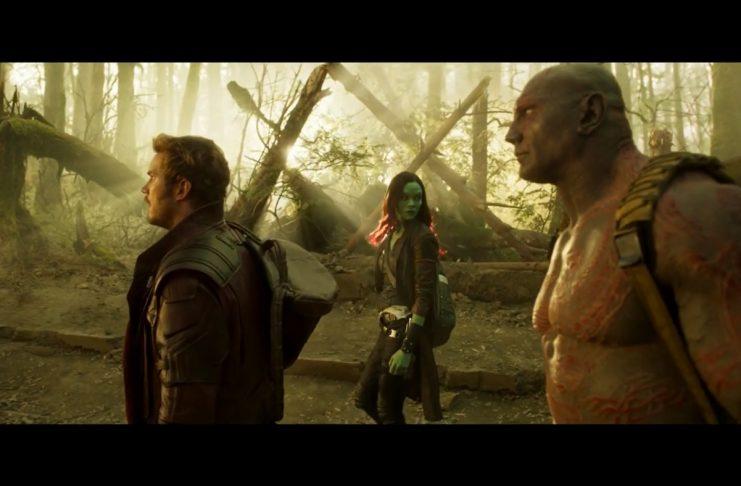 Ný stikla úr Guardians of the Galaxy 2