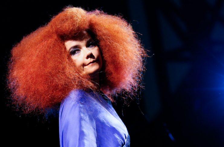 """NME fer yfir dæmigerð ummæli frá Björk: """"Náttúran kveikir í mér."""""""