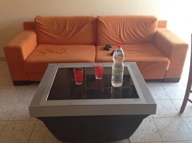 Really Stupid Or Pure Genius Ideas reusing old tv coffee table