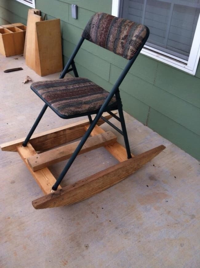 Really Stupid Or Pure Genius Ideas rocking chair