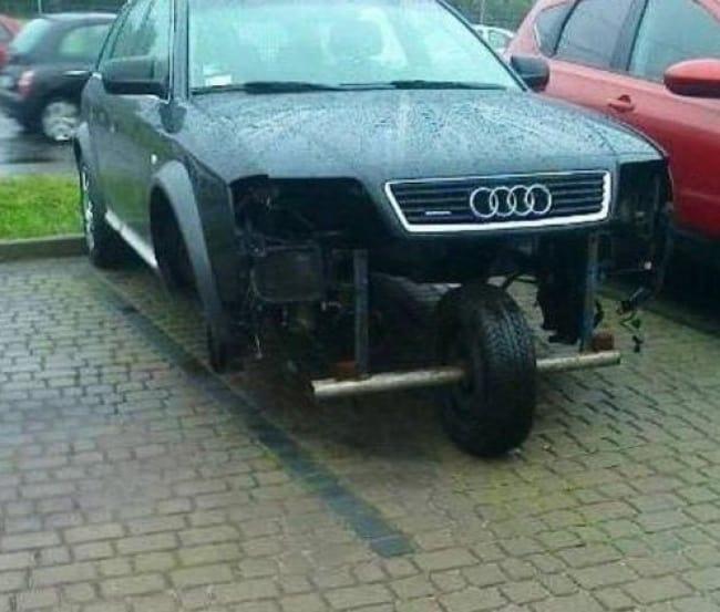 Really Stupid Or Pure Genius Ideas three wheel carReally Stupid Or Pure Genius Ideas three wheel car