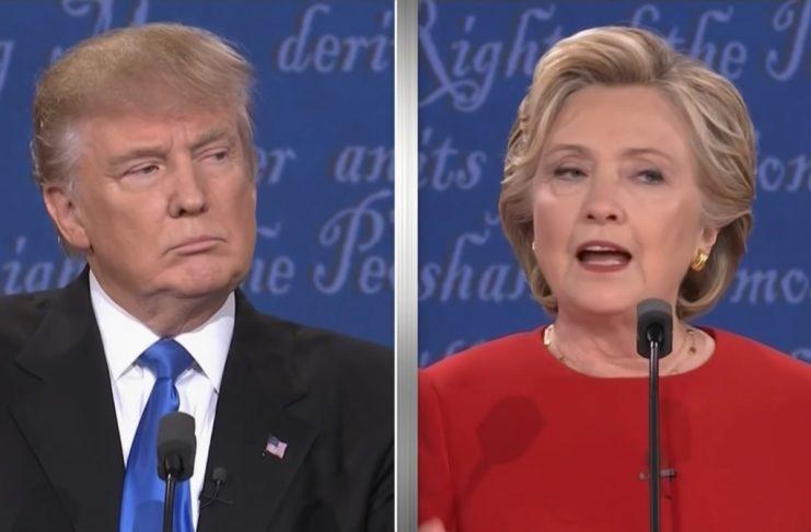 Sérdeilis fyndinn slæmur varalestur (Clinton VS. Trump)
