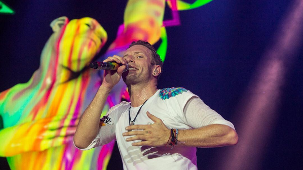 Photo courtesy of @coldplay on Instagram