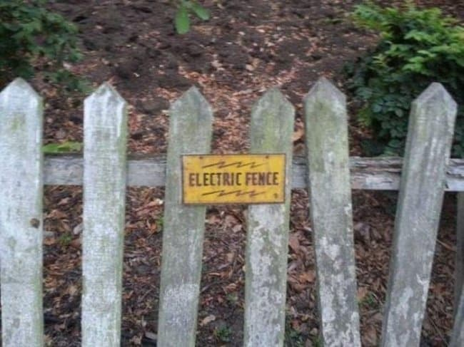 Security Fails electric fence