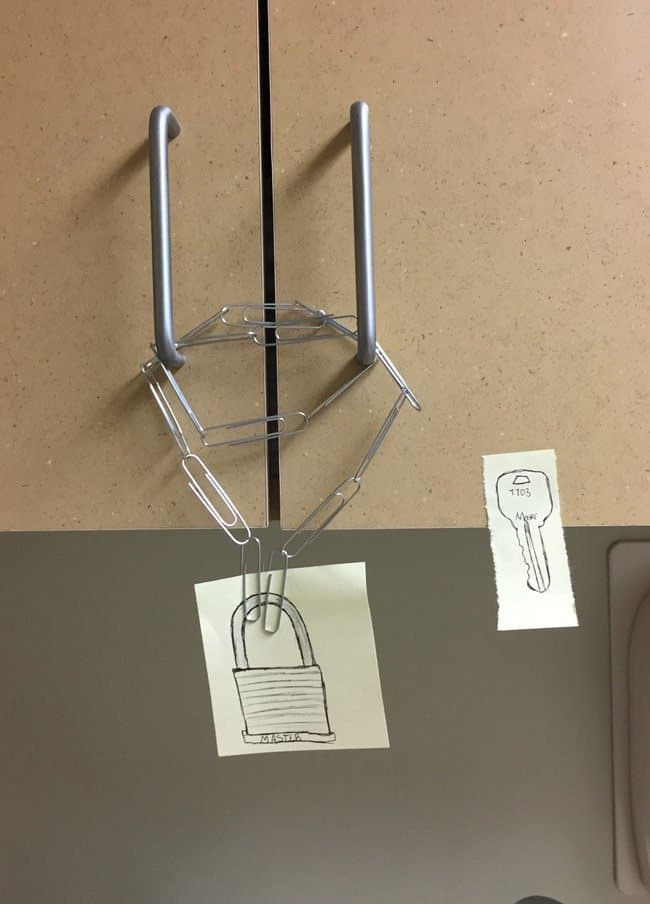 Security Fails paperclips