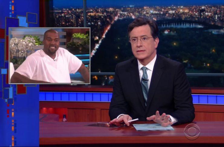 Stephen Colbert ræðir viðtal Ellen við Kanye West