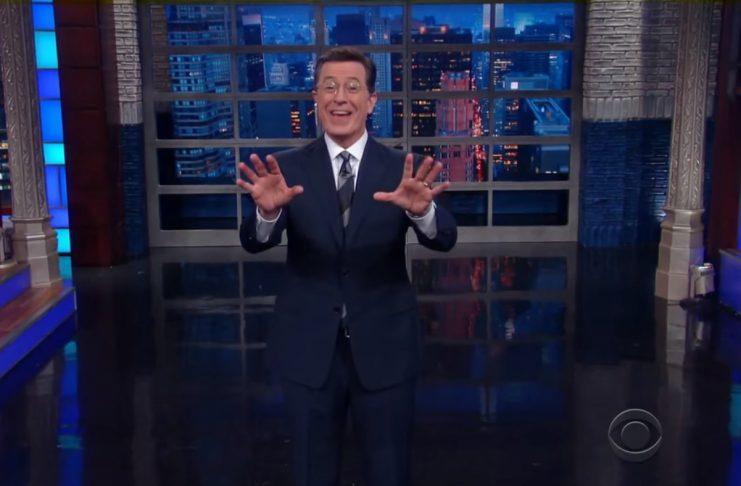 Stephen Colbert vill ráða Gumma Ben