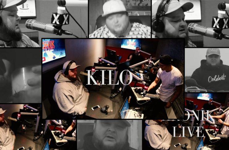 Tvítyngdur Kilo rappar í beinni (myndband)