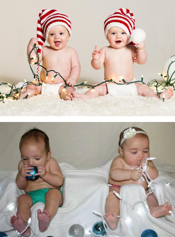 Christmas: Twins Edition. Nailed It