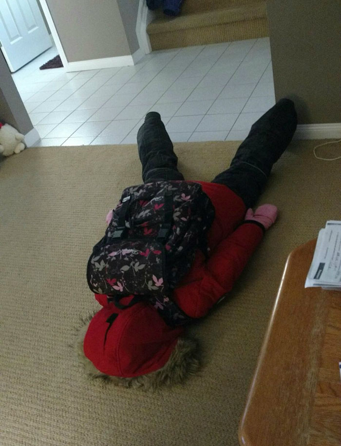 Our Daughter Is Not Ok With Going Back To School