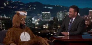Donald Glover hjá Kimmel