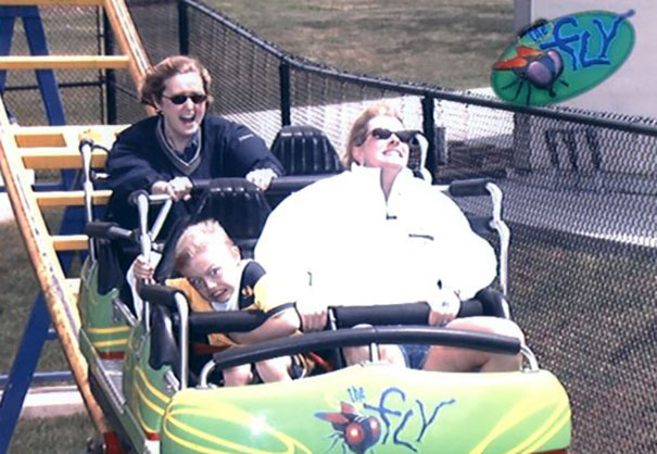 So I Found This Picture Of My First Roller Coaster...