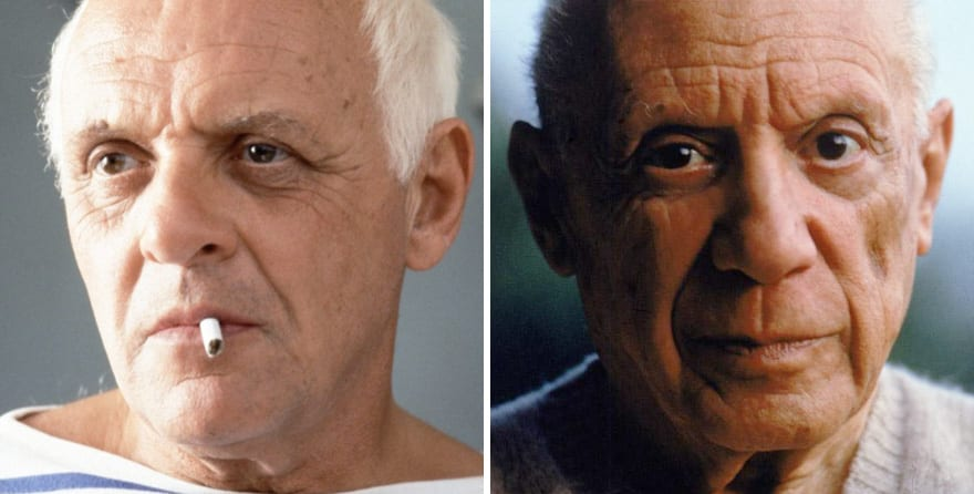 Anthony Hopkins As Pablo Picasso In Surviving Picasso (1996)