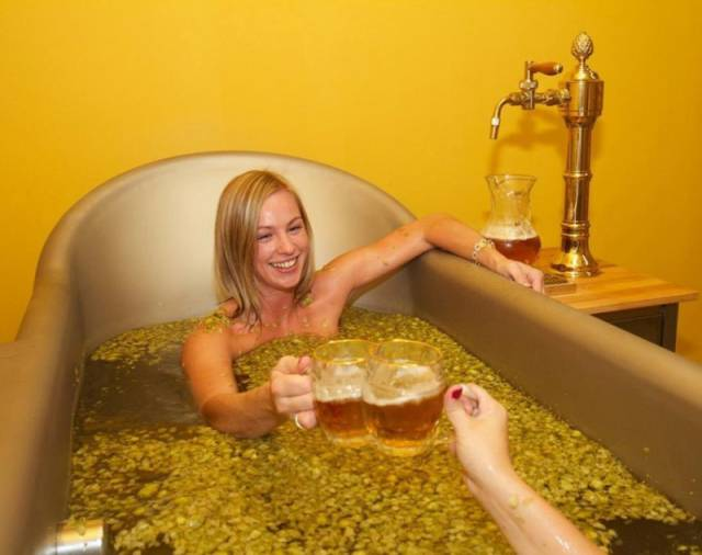 It Seems Like A Champagne Bath Is Yesterday's News Now…