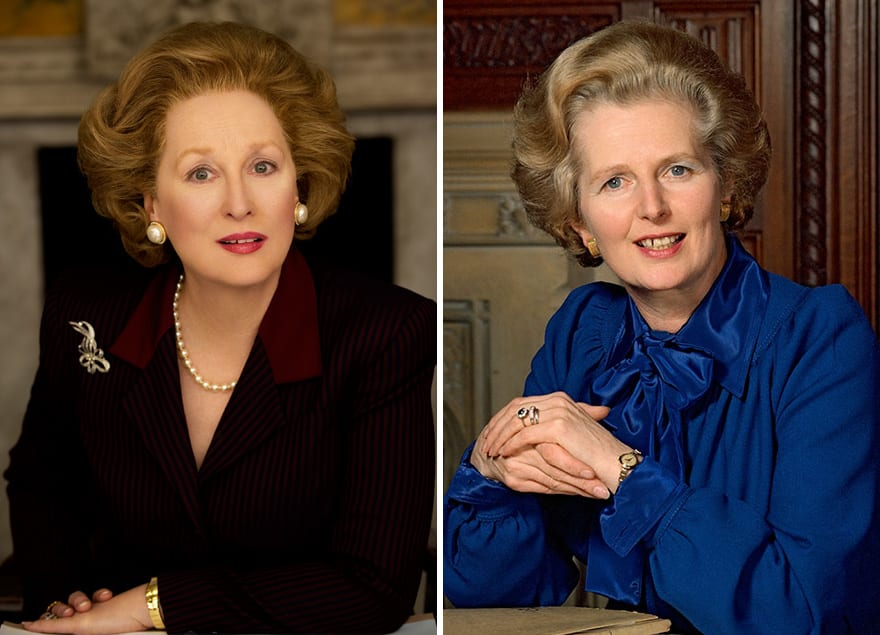 Meryl Streep As Margaret Thatcher In The Iron Lady (2011)