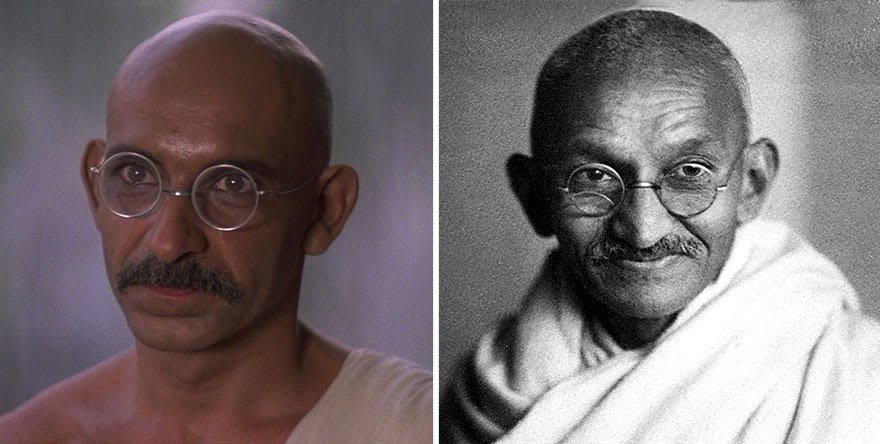 Ben Kingsley As Mohandas Karamchand Gandhi In Gandhi (1982)