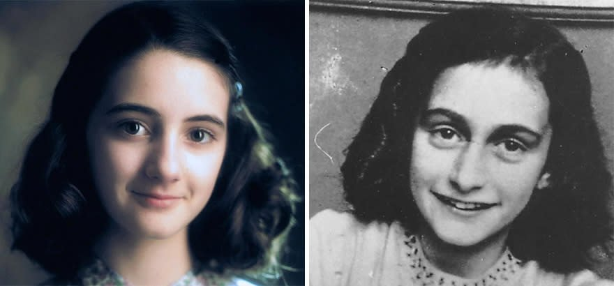 Hannah Taylor-Gordon As Anne Frank In Anne Frank: The Whole Story (2001)