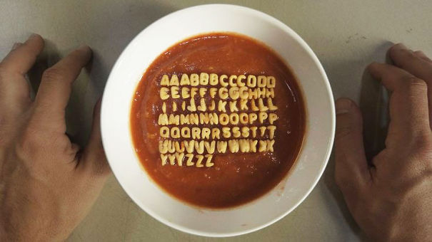 Bowl Of Alphabet Soup