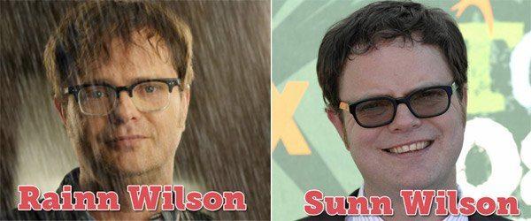 Rain Wilson Namepun