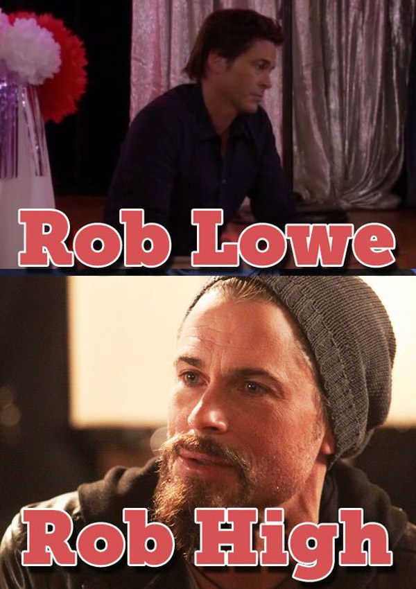 Rob Lowe Namepun