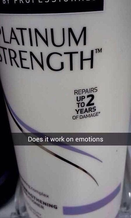 When it hit you right in the feels.