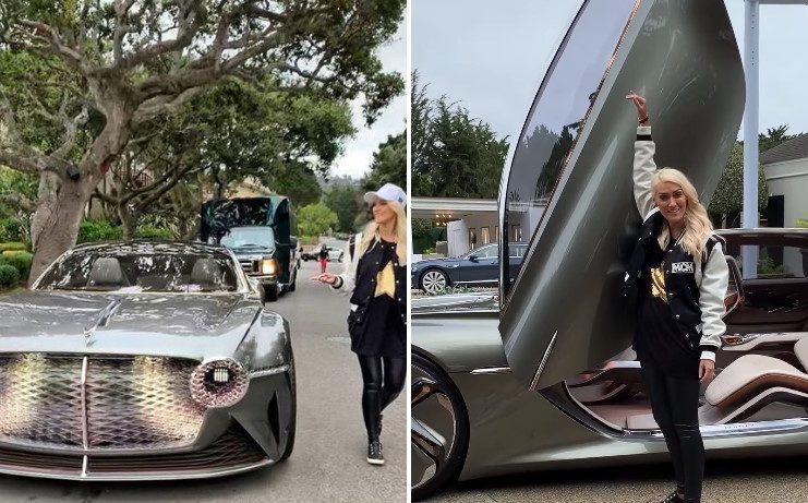 100 ára afmælisútgáfan af Bentley er SVAKALEGT ökutæki - Supercar Blondie kynnir okkur fyrir lúxusbifreiðinni! - MYNDBAND