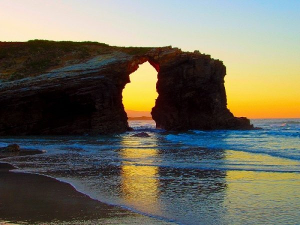 Image result for ribadeo beach