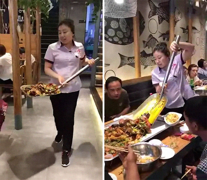 Your Food Directly From The Shovel To The Table
