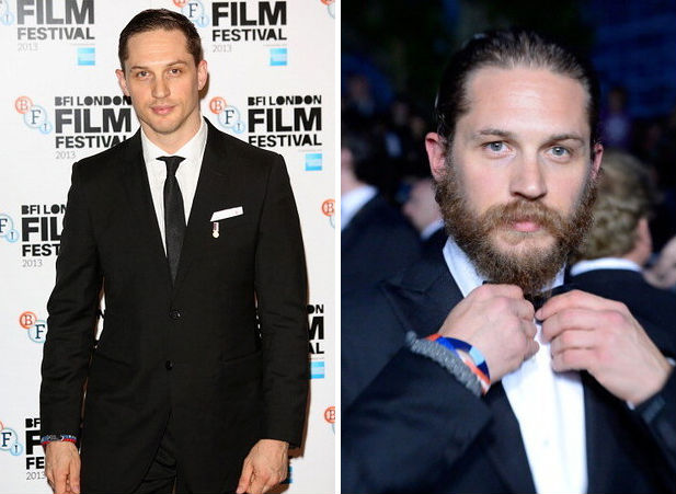 beards change everything tom hardy