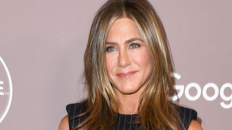 Jennifer Aniston sló heimsmet